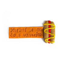 Magnetky - Dôležité je to, čo je vo vnútri - magnetka na chladničku - 10865513_