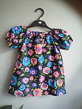 Detské oblečenie - folk šaty 2 - 10867250_