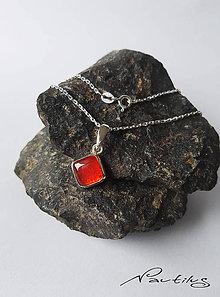"""Náhrdelníky - Strieborný šperk Ag925 """"Element ohňa"""" - 10868495_"""