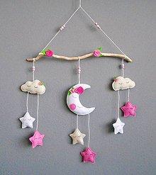 Detské doplnky - Dekorácia do detskej izby so sladkými ružičkami - 10868312_