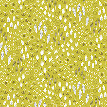 Textil - zelená lúka, 100 % bavlna USA, šírka 110 cm - 10867592_