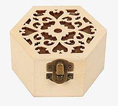 Obalový materiál - KB103 Krabička vyrezávaná 8,5 x 5 cm - 10867046_