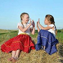 Sukne - Išla Marína / Starosvetská sukňa dospelácka - 10867002_