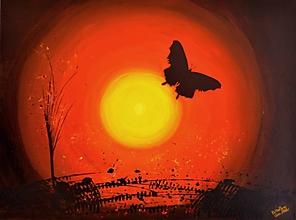 Obrazy - Butterfly - 10867649_