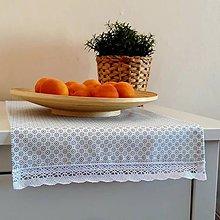 Úžitkový textil - Obrúsok 140 x 30 cm - 10867208_