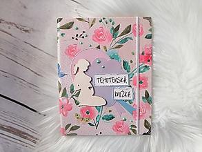 Papiernictvo - Obal na tehotenskú knižku - 10870862_