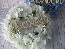 Dekorácie - Svadobné venčeky - 10869334_