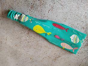 Ozdoby do vlasov - Čelenka - veselé rybky v tyrkysovom zálive - 10870808_