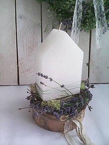 Dekorácie - Voňavý letný svietnik ...sladký domov... - 10870569_