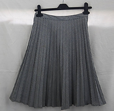 Sukne - Sukne. Plisovaná retro pepitová suknička. - 10870813_