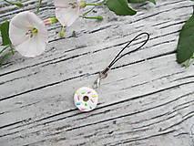 Kľúčenky - Sladký donutík - prívesok (Vanilkový) - 10869505_