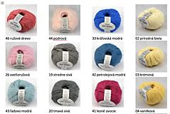 Textil - Detská pletená deka s osmičkami - 10869884_