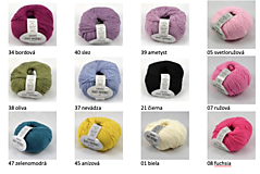Textil - Detská pletená deka s osmičkami - 10869885_