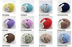 Textil - Detská pletená deka s osmičkami - 10869889_