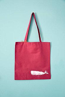 Iné tašky - Plátená taška, vorvaň - 10868824_