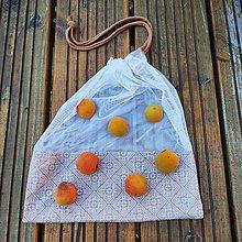 Úžitkový textil - Zero waste Aj aj vrecúško  (Ornamenty) - 10868665_