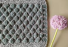 Úžitkový textil - Unikátny koberček - Bubbly - 10869404_