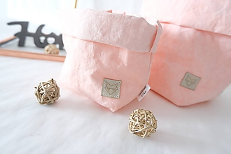 Košíky - Small home bag Pink - 10874208_