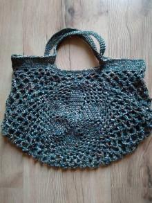 Nákupné tašky - Sieťovka melírová (Zelená) - 10873659_
