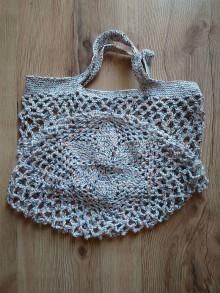 Nákupné tašky - Sieťovka melírová - 10873664_