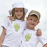 Detské oblečenie - tričko KRODODÍL 86 - 134 (dlhý aj krátky rukáv) - 10874412_