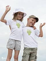 Detské oblečenie - tričko KRODODÍL 86 - 134 (dlhý aj krátky rukáv) - 10874415_