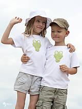 Detské oblečenie - tričko KRODODÍL 86 - 134 (dlhý aj krátky rukáv) - 10874420_