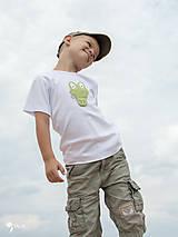 Detské oblečenie - tričko KRODODÍL 86 - 134 (dlhý aj krátky rukáv) - 10874426_