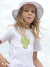 Detské oblečenie - tričko KRODODÍL 86 - 134 (dlhý aj krátky rukáv) - 10874430_