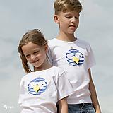 Detské oblečenie - tričko VTÁK GABO NÁMORNÍK 86 - 134 (dlhý aj krátky rukáv) - 10874543_