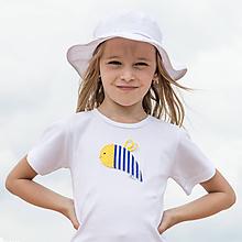 Detské oblečenie - tričko VČIELKA 86 - 134 (dlhý aj krátky rukáv) - 10874380_