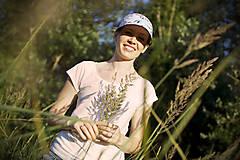 Čiapky - SHiLT Watercolor Woman - šiltovka/cap - 10874225_