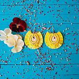 Náušnice - Voyage en Amazonia - sutaškové náušnice - 10872868_