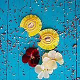 Náušnice - Voyage en Amazonia - sutaškové náušnice - 10872871_