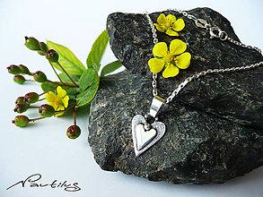 """Náhrdelníky - Strieborný šperk Ag925 """"Energia srdca"""" - 10871697_"""