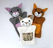 Hračky - Maňuška mačička - na objednávku - 10872132_