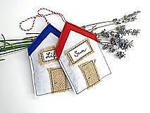 Dekorácie - Levanduľová dekorácia: Domček pri mori - 10873479_