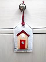 Dekorácie - Levanduľová dekorácia s prímorským dizajnom - 10873542_