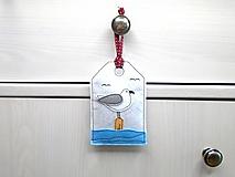 Dekorácie - Levanduľová dekorácia s prímorským dizajnom - 10873549_