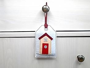 Dekorácie - Levanduľová dekorácia s prímorským dizajnom (Plážová chatka) - 10873541_