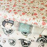 Textil - Santoro Curiosity Lost & Found, 100 % bavlna USA, šírka 110 cm - 10872480_