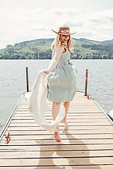 Šaty - Obojstranné ľanové šaty - 10874847_