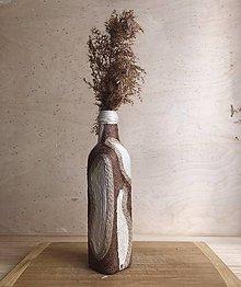 """Dekorácie - Lalua"""" zerowaste recyklovaná váza - 10871885_"""