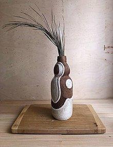 """Dekorácie - OM"""" recyklovaná zerowaste váza - 10871907_"""