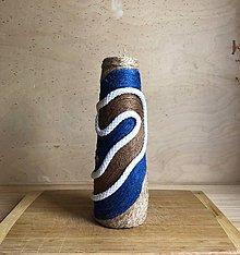 """Dekorácie - KLUNIA"""" recyklovaná zerowaste váza - 10871924_"""