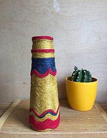 """Dekorácie - ESPAŇA"""" recyklovaná zerowaste váza - 10871937_"""
