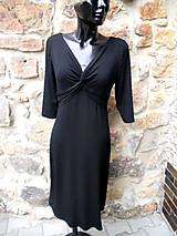Šaty - ŠATY černé..... - 10874825_