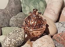 """Polotovary - Difúzer """"klietkový"""" - Ružové zlato v ornamentoch - 10871717_"""