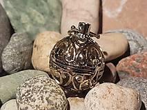 """Polotovary - Difúzer """"klietkový"""" - Zlato-strieborné ornamenty - 10871755_"""