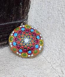 Dekorácie - Kamienok z Pukanca - Na kameni maľované - 10874966_